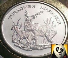 1986 RARA 30th preservare WWF per la natura Coin Medaglione MARKOR FAR rintracciare FDC