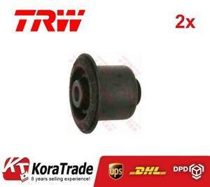 2x TRW JBU537 LOWER CONTROL ARM TRAILING ARM BUSH X2 PCS