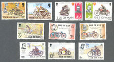 Motorcycles-TT Races-Motorbikes 10 diff Isle of Man mnh stamp collection