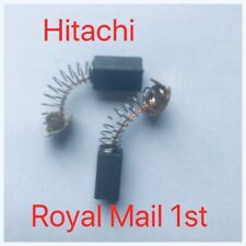 Carbon Brushes Hitachi B9,PD150A,PDB100,PDM125,PDM150,, Royal Mail First Class