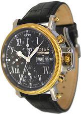 TRIAS Uhren Modell Trafalger Herren-Armbanduhr mit Kronenschutz Automatikwerk