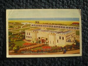 POSTCARD SUN CASTLE, NORTH PARADE, SKEGNESS, LINCOLNSHIRE