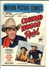 Motion Picture Comics #103 1951-Rocky Lane-Covered Wagon Raid-B-Western-VG
