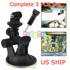 New Car Suction Cup Fixed bracket Mount Tripod For GoPro Hero 8 7 6 5 Camera