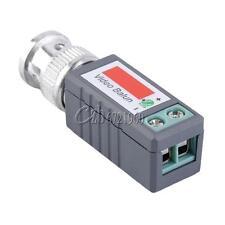 10Pair CCTV Passive Video Balun UTP Transivers BNC CAT5 CABLE CONNECTORS 202E