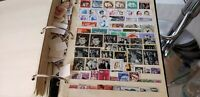 WORLDWIDE STAMPS Collection in 3 ring binder 1000's of stamps 31 PAGES all Mint