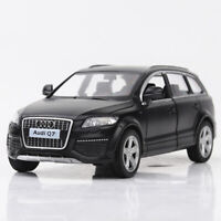 Audi Q7 V12 SUV Black 1:36 Model Car Diecast Gift Toy Vehicle Kids Pull Back