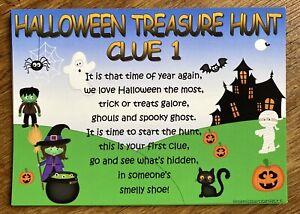 Halloween Party Games Activities Treasure Hunt Trick or Treat Ideas Decorations