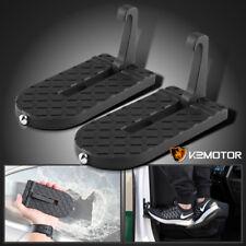 2x Folding Car Door Latch Hook Step Foot Pedal Ladder Jeep SUV Truck Roof Access