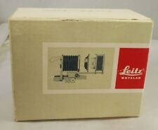 Empty box for Leitz Wetzlar 16556P 16557Q Bellows macro housing coppying 7403006