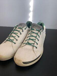 ECCO Biom Hydromax Yak Men's Leather Spikeless Golf Shoes Sz Eur 46 US 12