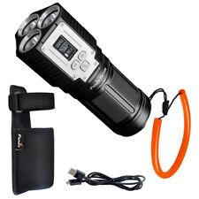 Fenix TK72R 9000 Lumen Rechargeable Search Flashlight Powerbank & Fenix Lanyard