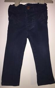 Boys Age 9-12 Months - Next Navy Chino / Jeans Trousers