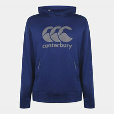 Canterbury Rugby Men's Vapodri Training Hoodie - Blue - New