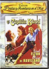 Captain Blood (1935) * Errol Flynn, Olivia de Havilland * Region 2 (UK) DVD New