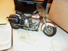 Franklin Mint Harley Davidson Softail Classic Die Cast Model 1:10 Scale