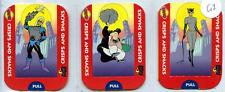 Batman Animated Adventures - Tayto - Crisps and Snacks Cards 5 Pop-Up Cards 1995