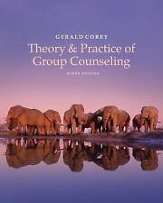 NEW - Free Express Ship - Theory & Practice of Group Counseling by Corey (9 Ed)