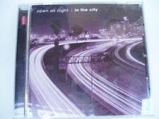 OPEN ALL NIGHT : IN THE CITY - RHINO Comp. CD