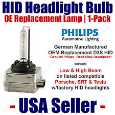 OE HID Headlight Hi/Low GENUINE German 1-Pack Select Porsche & Tesla - D3S