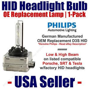 OE HID Headlight Hi/Low GENUINE German 1-Pack Select Porsche & Tesla - D3S