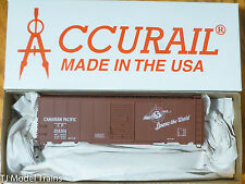 Accurail HO #3523.9 (Rd #254306) Canadian Pacific C.N (Steel 40' Boxcar) Plastic