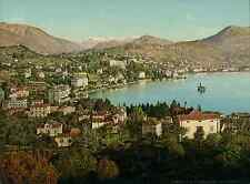 Lugano. Paradiso. (ITALIE) vintage photochrom from Photochrom Zurich archive p