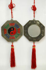 1pc Bagua Mirror Feng Shui Hanging Family Protection Flat Mirror
