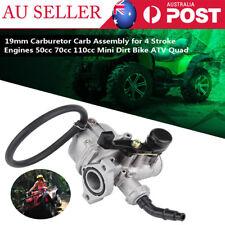 Carburetor Carby Carb Fit 70cc 110cc Mini Dirt Bike ATV Quad  Metal Rubber 19mm