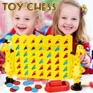 Giraffe Children Connect 4 In A Row Four In A Line Board Chess Game Puzzle   x