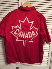 Extremely Rare Vintage 1950-60's Team Canada Basketball? Warmup Jacket Size 42