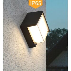 LED Aluminum Light Indoor Outdoor Garden Wall Light IP65 Waterproof Simple Style