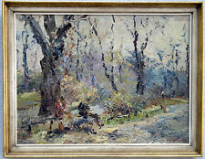 H. Gans, Impressionist, Starnberg, Potsdam, Original, signiert, verzeichnet, T2