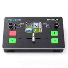 Tragbar 5.1cm TFT Display Professionell 12V Video Mischer Schalter Für Lebendig