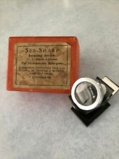 See-Sharp Pocket-Size Focusing Device Scope for Photographic Darkroom Enlargers