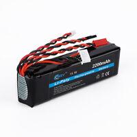 RC Transmitter Battery Pack 11.1V 2200mAh Lipo Battery Rechargeable Lithium Batt