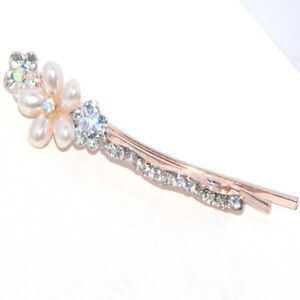 Hair Sticks Lady Hairpins Fashion Pearl Flower Hair Clip Hair Accessories Womens