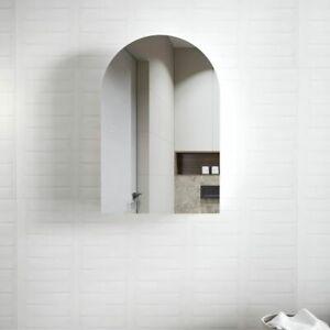 Archy  Matte White Wall Hung  Mirror  Shaving Cabinet Bathroom Vanity