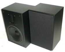 MP-65RT 6.5in and Ribbon Tweeter 2-Way Bookshelf Speakers (Pair), Black