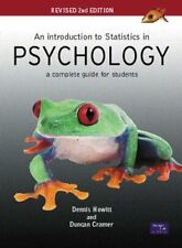 An Introduction to Statistics in Psychology: A Complete Guide for Students-Dr D