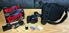 Canon EOS Rebel T3i 600D 18.0MP DSLR Digital Camera Kit EF-S 18-55mm IS II Lens