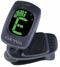 GEWA Clip 2 Clip-On Accordeur pour Guitare/Bass
