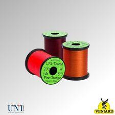 Veniard Uni Thread 200 yard spools 6/0 & 8/0, Pre-Waxed (UNI60-200 & UNI80-200)