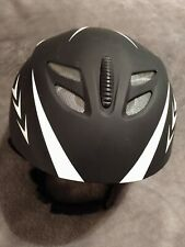 🎀Men's Ski Snowboard Helmet  - Size Large - Matte Black/White