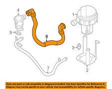 BMW OEM 01-03 530i A.I.R. System-Hoses 11721435456