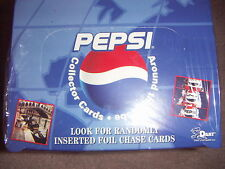 PEPSI Exclusive Bean Bear Collector Trading Cards - Around the Globe 1 Full Box