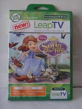 LeapTV~Sofia The First~ READING Educational Active Video Game FACTORY SEALED!