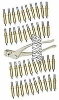 "Clecos 40pk 1/8"" Cleco Fasteners With Pliers IMCA, Modified, Aviation Sheet Tool"