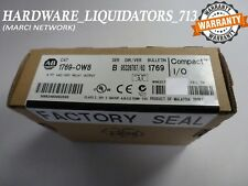 FACTORY SEALED Allen Bradley 1769-OW8 (Rev 3.1) Relay Output 8pt (FAST SHIPPING)