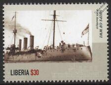 WWI HMS Amethyst (1903) Royal Navy Topaze-Classe protégé Croiseur Navire de guerre TIMBRE